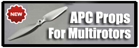 APC Multirotor Props - Now in stock!