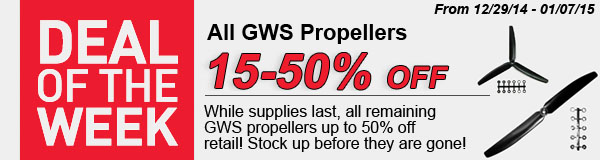 Save on GWS props!
