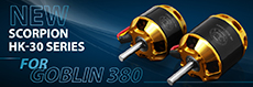 Pre-order the new HK-30mm motors for the Goblin 380