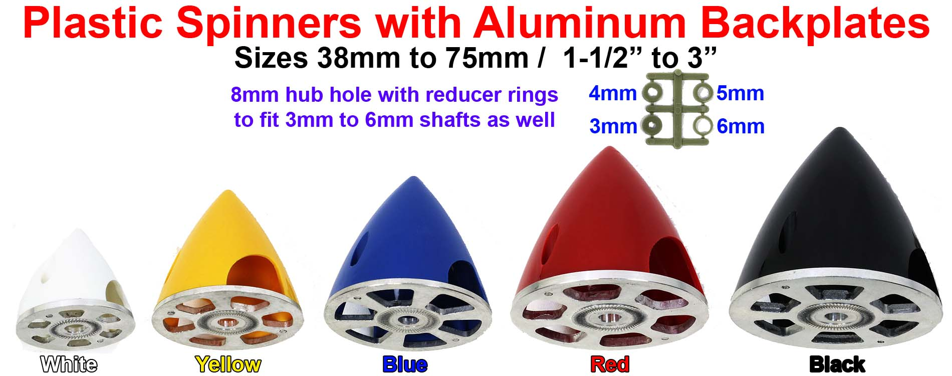 Plastic Spinners