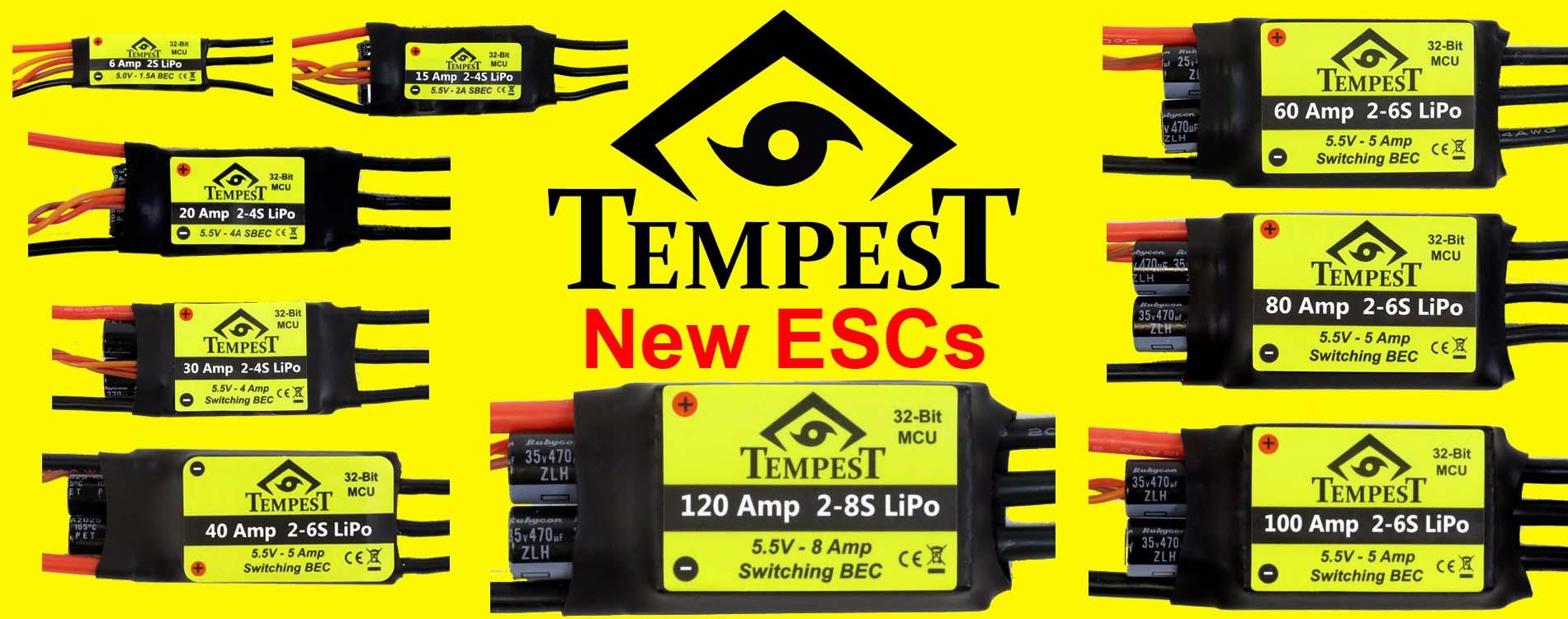 Tempest ESCs