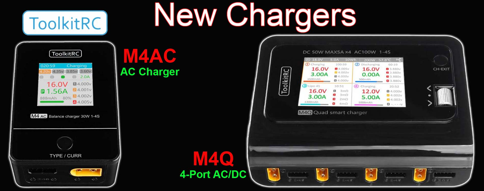 ToolkitRC Chargers