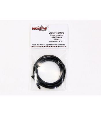 Ultra-Flex Wire, 14-AWG Black, 3-Feet