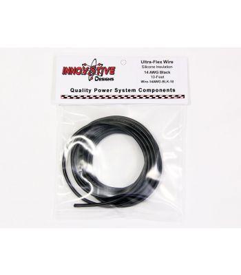 Ultra-Flex Wire, 14-AWG Black, 10-Feet
