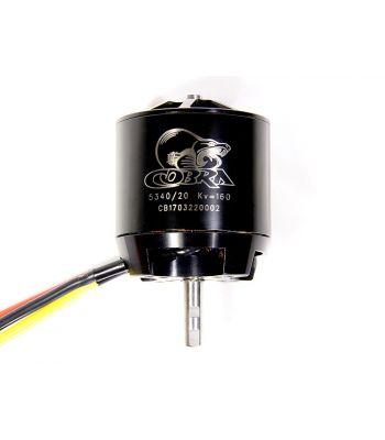 Cobra C-5340/20 Brushless Motor, Kv=160