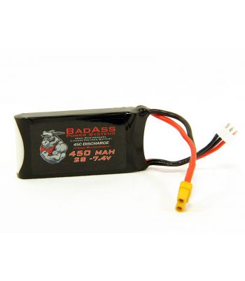 BadAss 45C  450mah 2S LiPo Battery