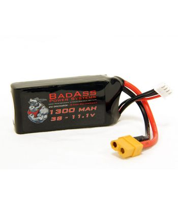 BadAss 45C 1300mah 3S LiPo Battery