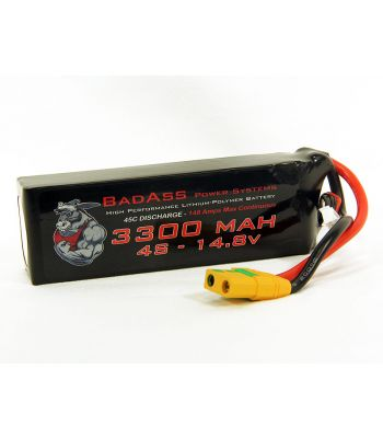 BadAss 45C 3300mah 4S LiPo Battery