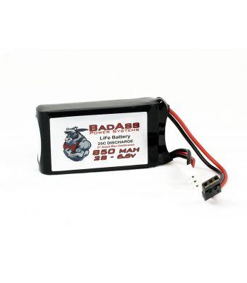 BadAss 25C  850mah 2S LiFe Battery