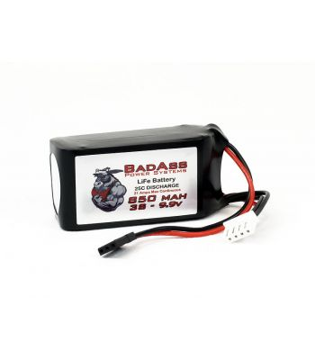 BadAss 25C  850mah 3S LiFe Battery