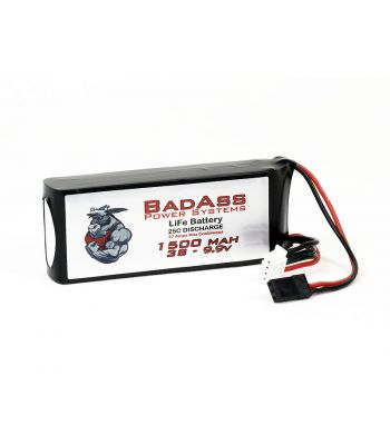 BadAss 25C 1500mah 3S LiFe Battery
