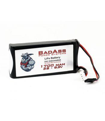 BadAss 25C 1700mah 3S LiFe Battery