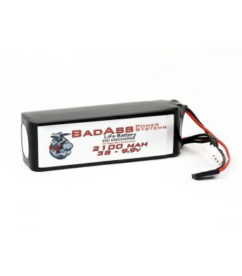 BadAss 25C 2100mah 2S LiFe Battery