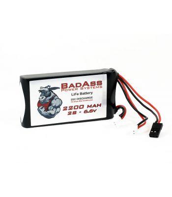 BadAss 25C 2200mah 2S LiFe Battery