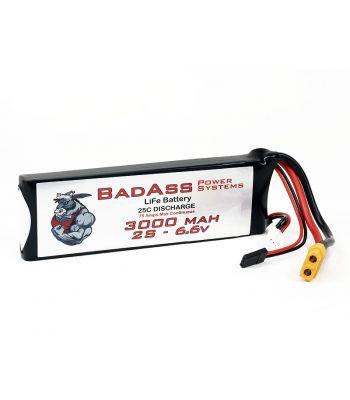 BadAss 25C 3000mah 2S LiFe Battery