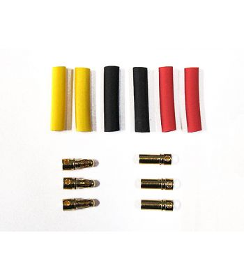 Bullet Connector Set, 3.5mm