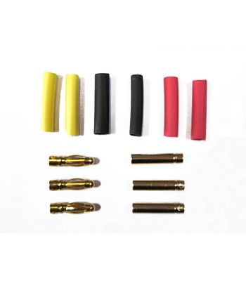 Bullet Connector Set, 4.0mm