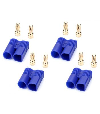 EC3 Connector Set, 4 Male