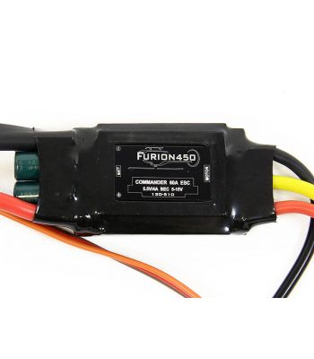 Furion 2-4 Cell 60A Heli ESC, New in Box