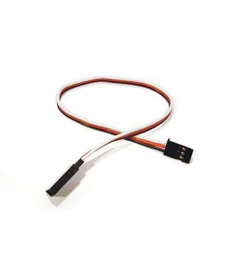 Servo Extension, Futaba Connectors, 28ga 8 inch