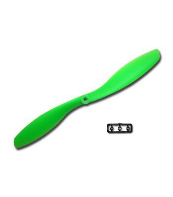 GemFan 8x4.5R Prop, Green, Reverse Rotation