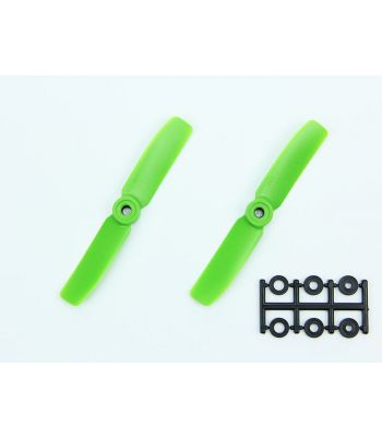 HQ 4x4 Bull-Nose Prop, Green, Normal Rotation (2-Pack)
