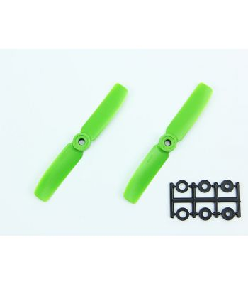 HQ 4x4 Bull-Nose Prop, Green, Reverse Rotation (2-Pack)