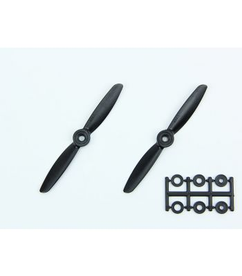 HQ 4x4.5 Prop, Black, Normal Rotation (2-Pack)