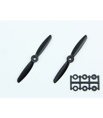 HQ 4x4.5 Prop, Black, Reverse Rotation (2-Pack)