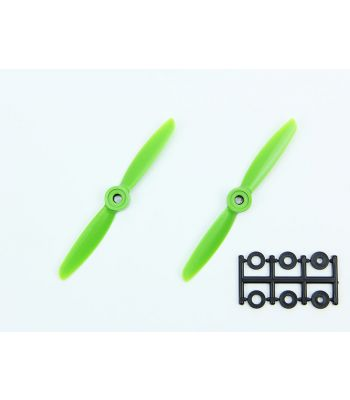 HQ 4x4.5 Prop, Green, Reverse Rotation (2-Pack)