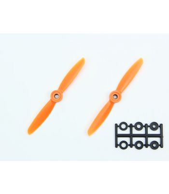 HQ 4x4.5 Prop, Orange, Reverse Rotation (2-Pack)