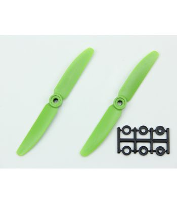 HQ 5x3 Prop, Green, Normal Rotation (2-Pack)