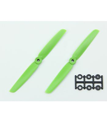HQ 6x3 Prop, Green, Normal Rotation (2-Pack)