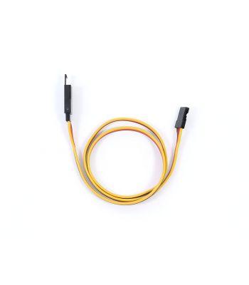 Safety Clip Servo Extension with JR/Hitec Connectors, 22ga 18 inch