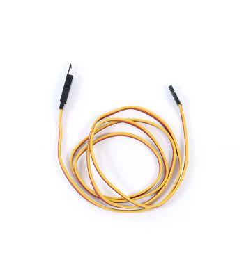 Safety Clip Servo Extension with JR/Hitec Connectors, 22ga 36 inch