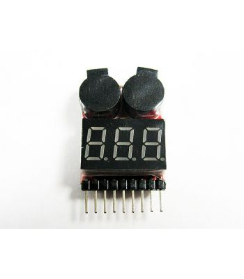 Digital Battery Meter and Low Voltage Alarm