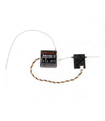Spektrum AR7700 DSMX Receiver with Remote RCVR, Used