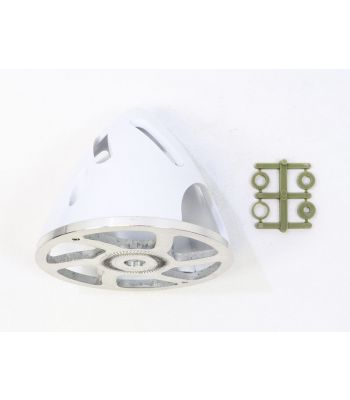 Air-Flow Spinner with Aluminum Backplate, 82mm (3-1/4