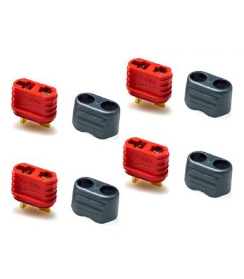 T-Plug Connector Set, 4 Female