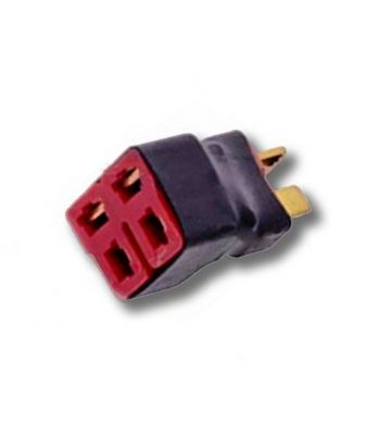 T-Plug Parallel Battery Connector Block, 1M2F