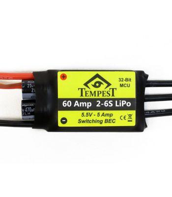 Tempest Brushless ESC, 60A 6S