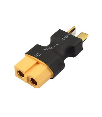 Battery Adapter - T-Plug Male to XT60 Female