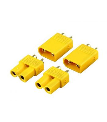 XT30 Connector Set, 2 Male & 2 Female