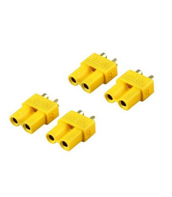 XT30 Connector Set, 4 Female