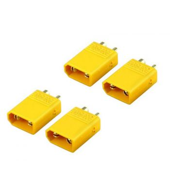XT30 Connector Set, 4 Male