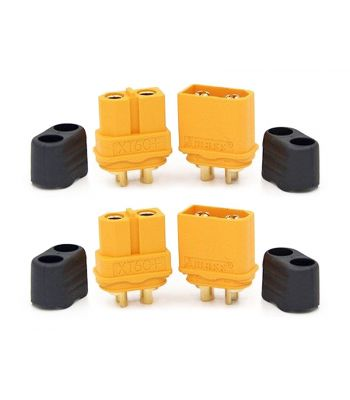XT60 Connector Set, 2 Male & 2 Female