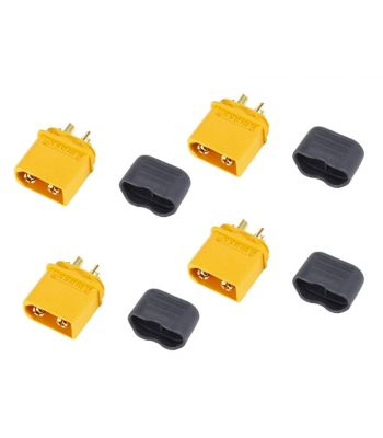 XT60 Connector Set, 4 Male